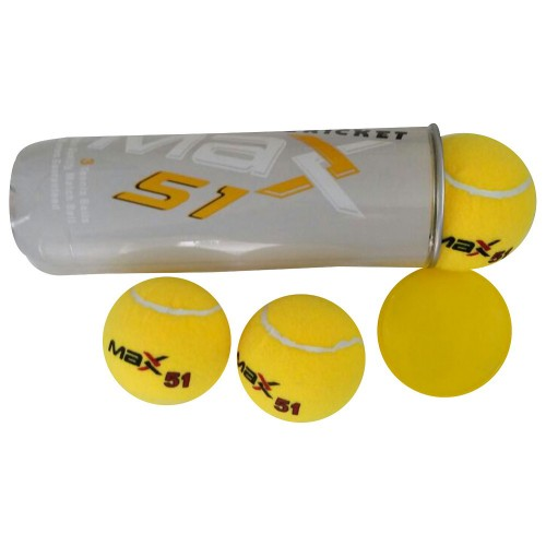 ALLBALLZ TENNIS BALL AB MAX51 3-PACK - YELLOW