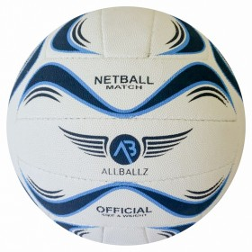 ALLBALLZ Nitro Netball Size 5 Match Ball