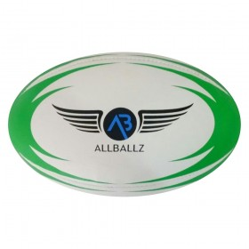 ALLBALLZ OFFICIAL MATCH RUGBY BALL GREEN