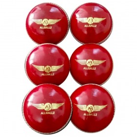 ALLBALLZ Quality Leather Cricket Balls 5.5oz
